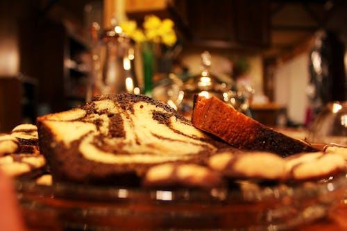 Free stock photo of cake, platter, tea time