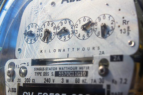 Free stock photo of analog, electric, electricity, meter