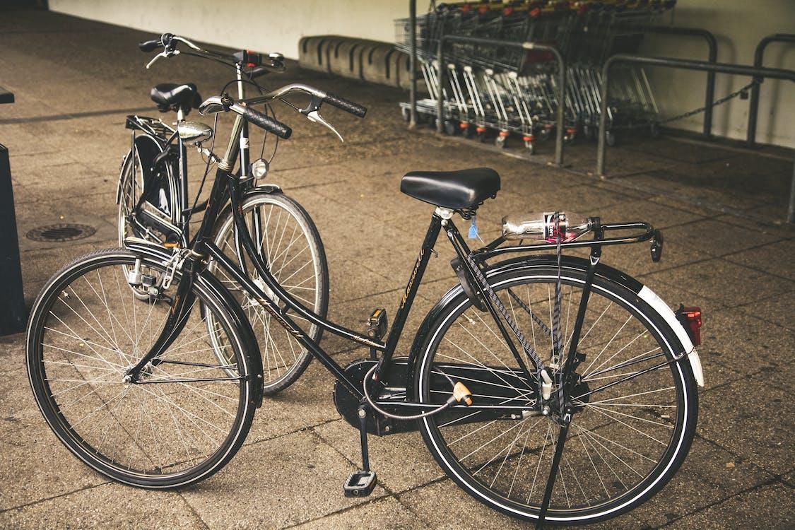 fietsen, transport, vervoer