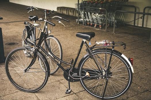 Black Cruiser Bicycle