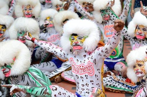 Darmowe zdjęcie z galerii z farba do twarzy, festiwal, futro, kostium