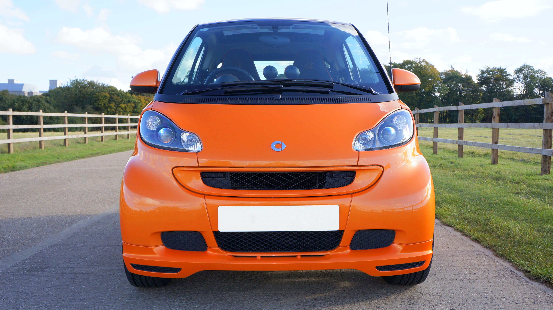 Free stock photo of car, orange, wheels, smart car