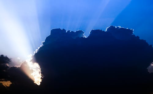 Gratis arkivbilde med atmosfære, skyer, sol