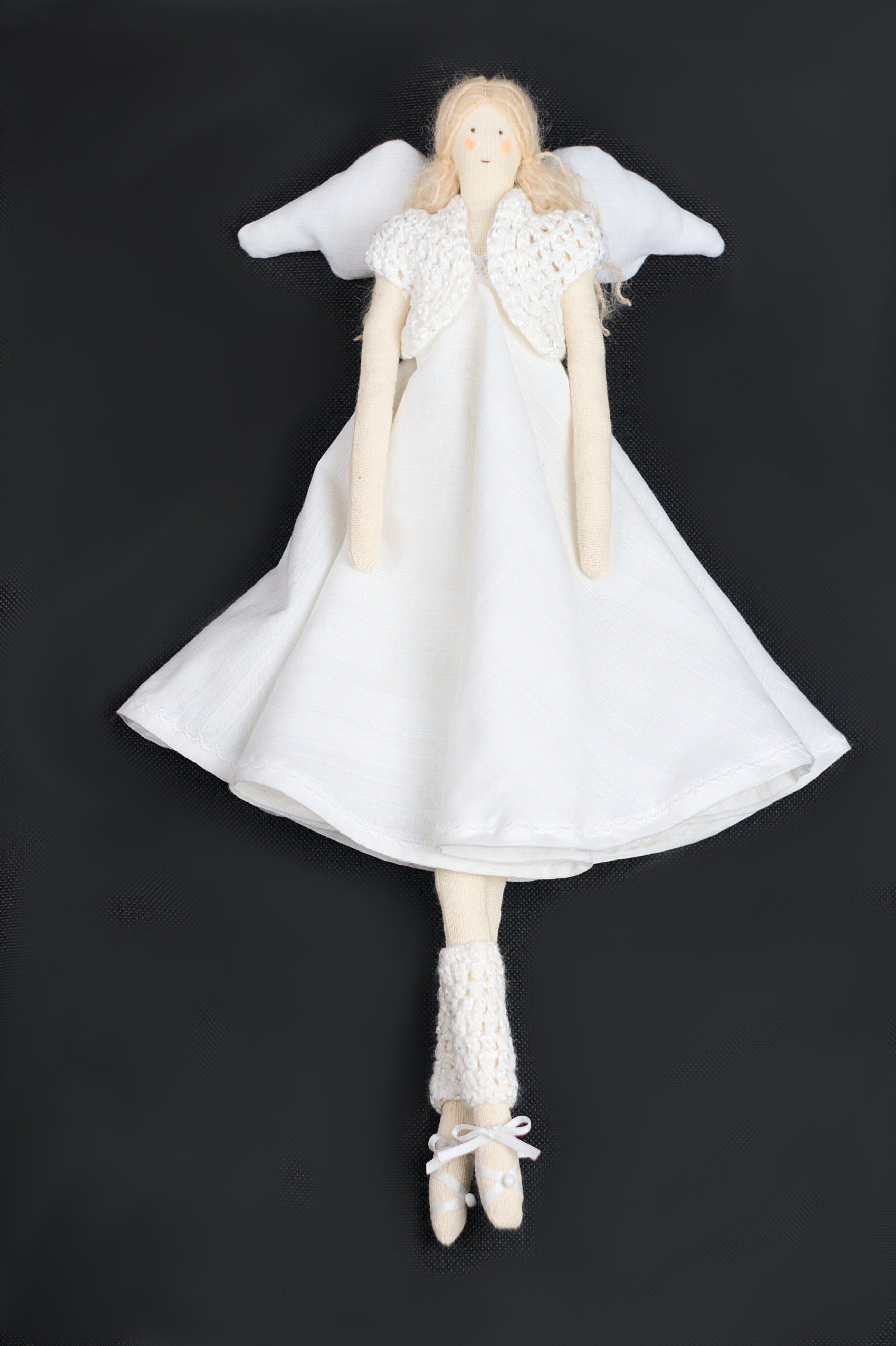 angel, doll, handmade