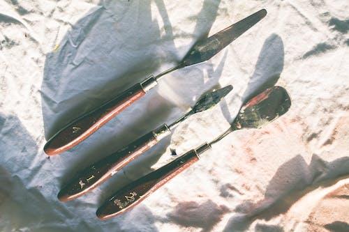 palet bıçağı içeren Ücretsiz stok fotoğraf