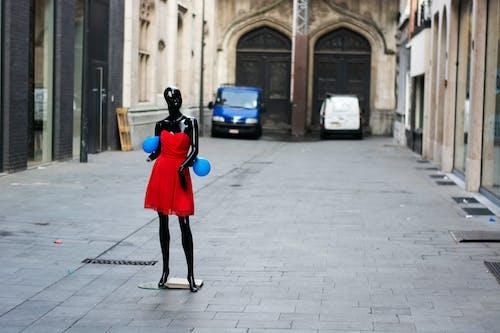 假人模特兒, 圓石, 城市, 城鎮 的 免费素材图片