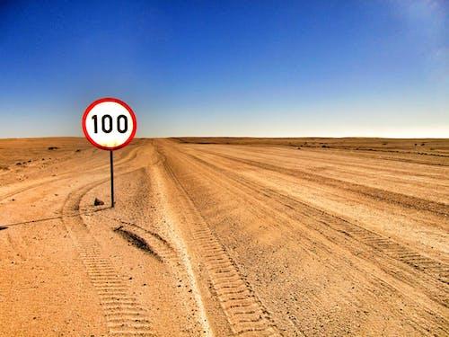 Δωρεάν στοκ φωτογραφιών με άμμος, δρόμος, έρημος, ουρανός
