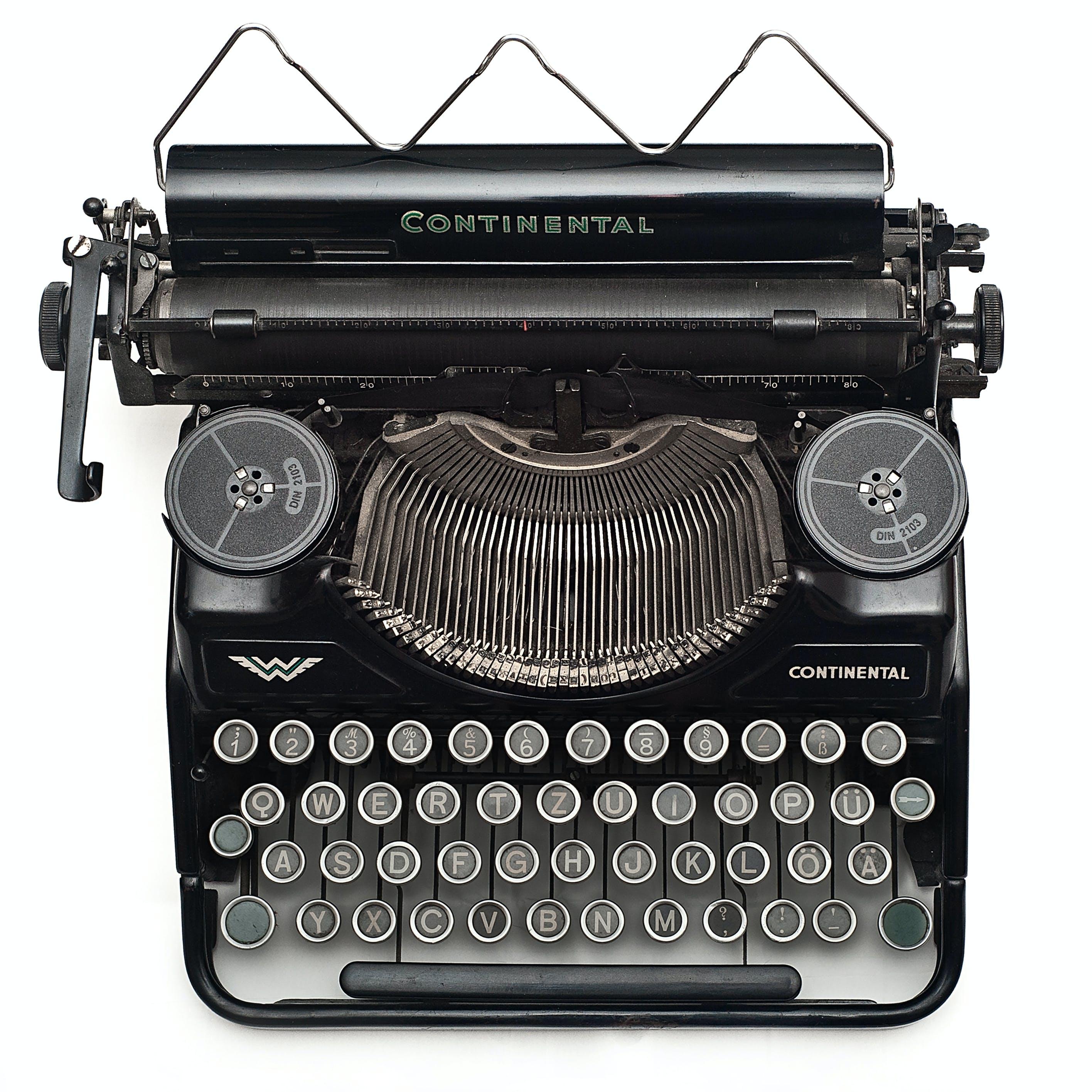 vintage, βίντατζ, γραφομηχανή