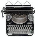 vintage, old, typewriter