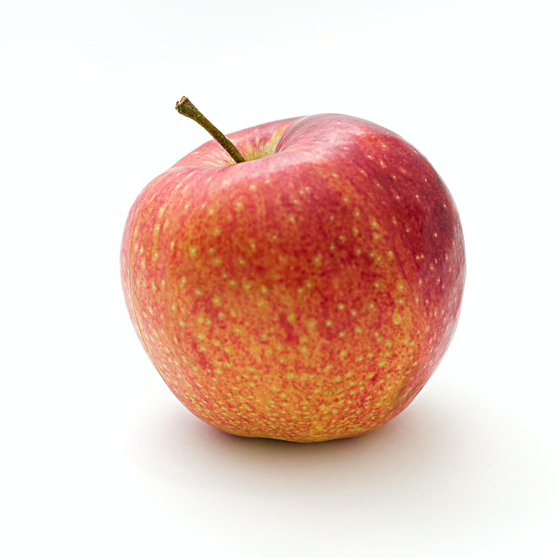 red and orange apple fruit free stock photo