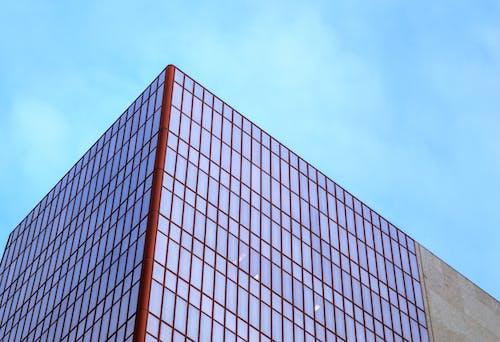 Foto d'estoc gratuïta de arquitectura, articles de vidre, cel, centre de la ciutat
