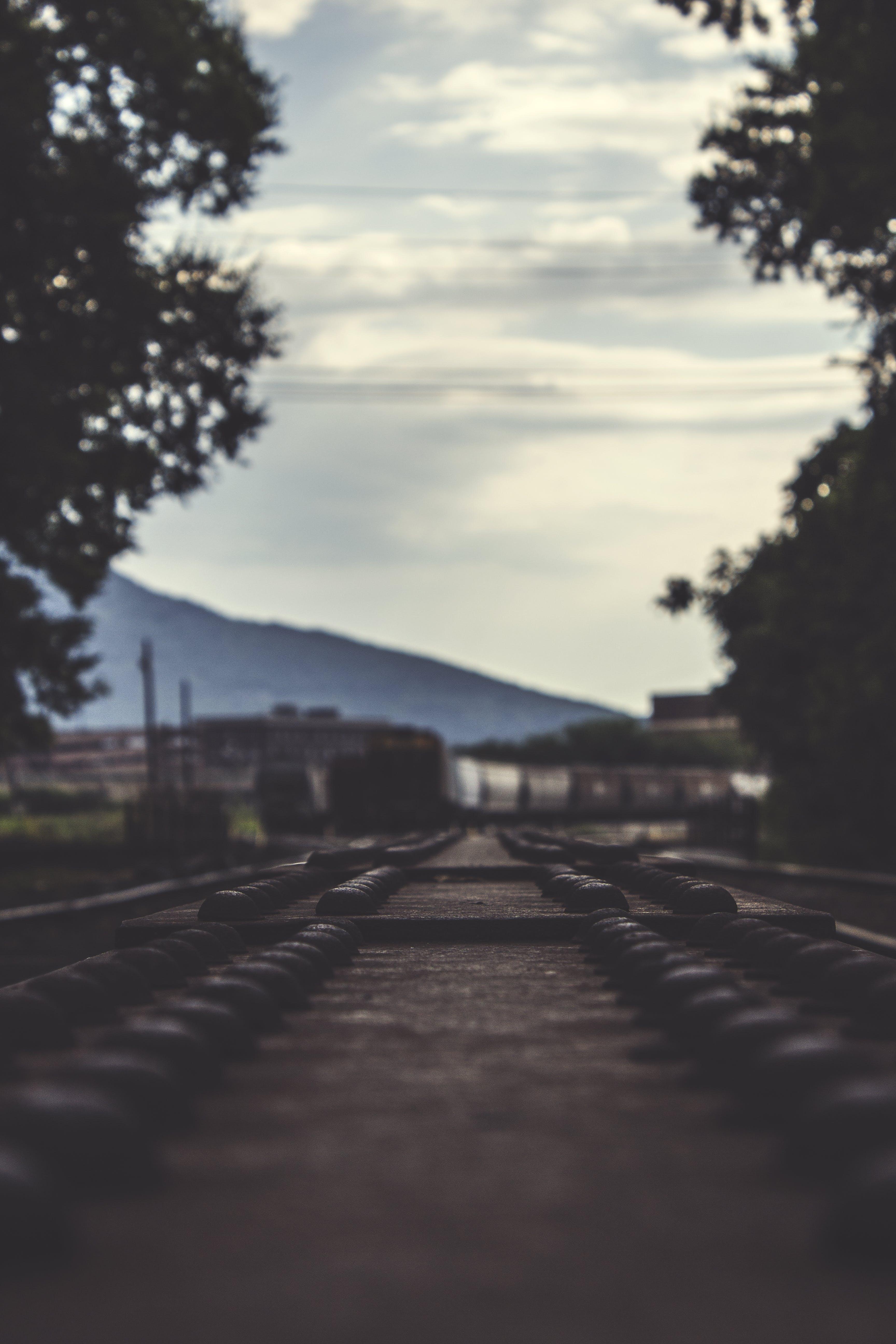 infrastruktur, järnväg, perspektiv