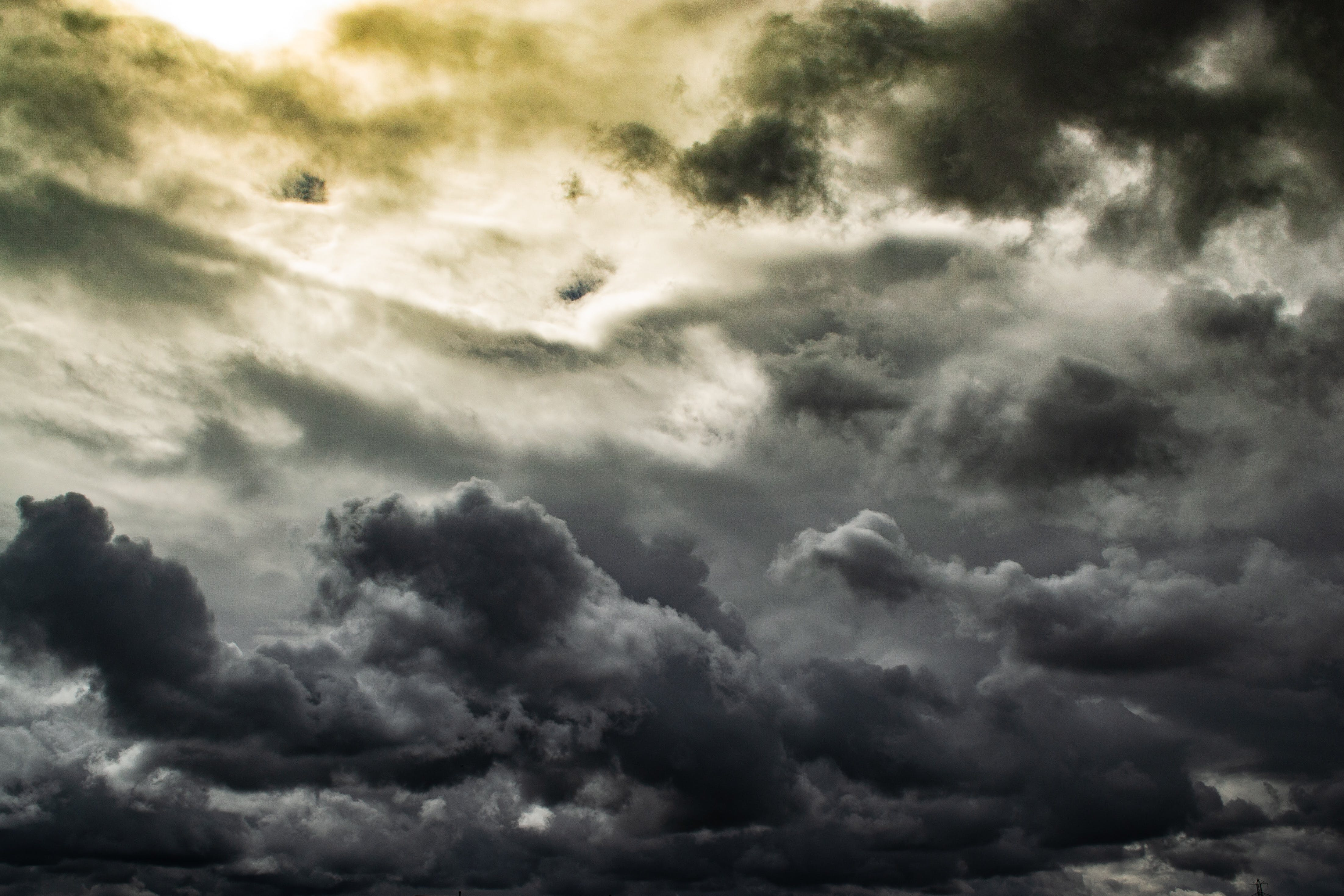 Photo of Gray Clouds