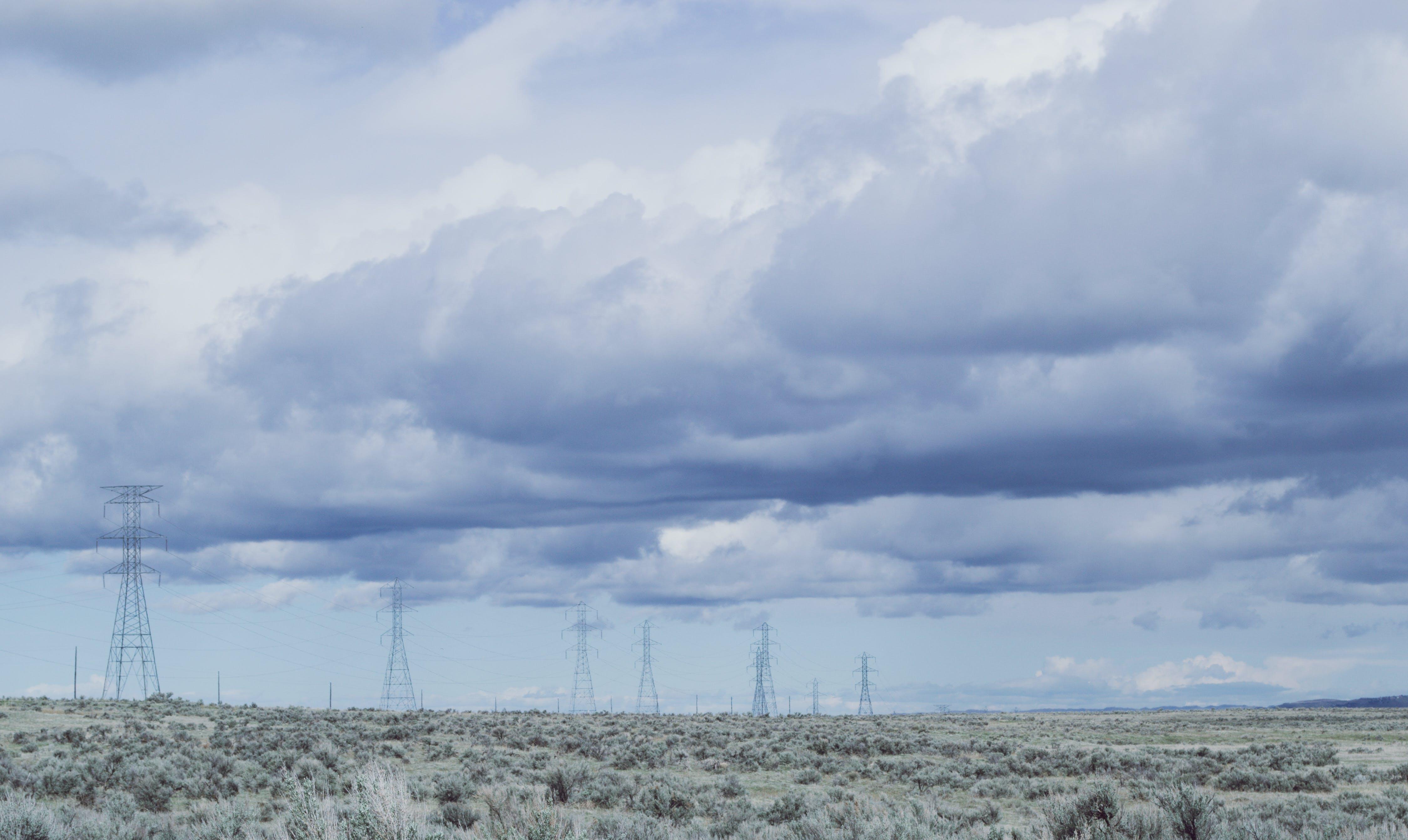 alan, bulutlar, çevre, çim içeren Ücretsiz stok fotoğraf