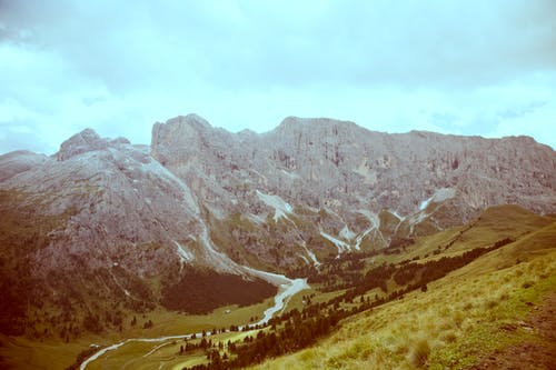 dağ, dağ silsilesi, doğa, manzara içeren Ücretsiz stok fotoğraf