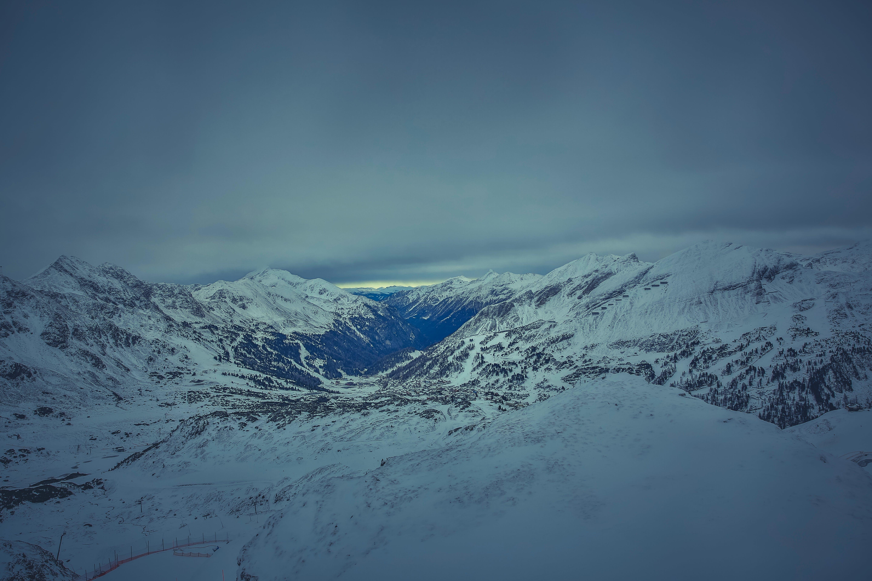 Gratis arkivbilde med fjell, fjellkjede, forkjølelse, natur