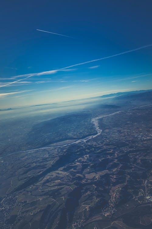 Ilmainen kuvapankkikuva tunnisteilla ilmakuva, kevyt, luonto, maisema