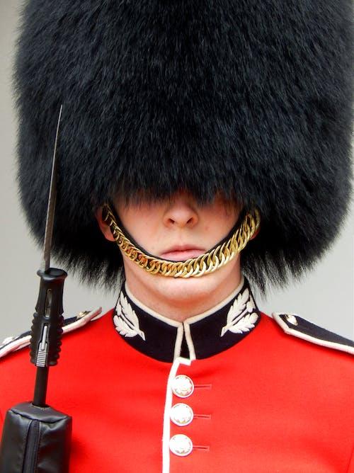 A Royal Guard Wearing His Uniform