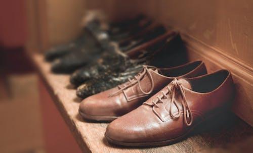 가죽, 가죽 신발, 수제, 신발의 무료 스톡 사진