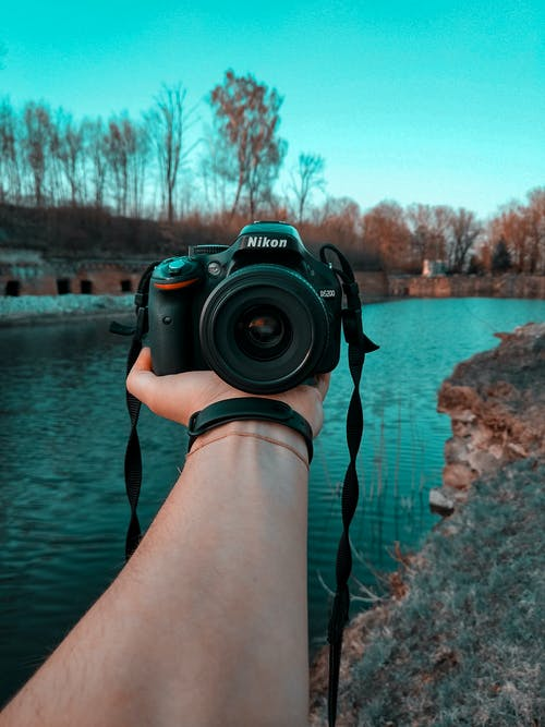 DSLR, 니콘, 렌즈, 물의 무료 스톡 사진