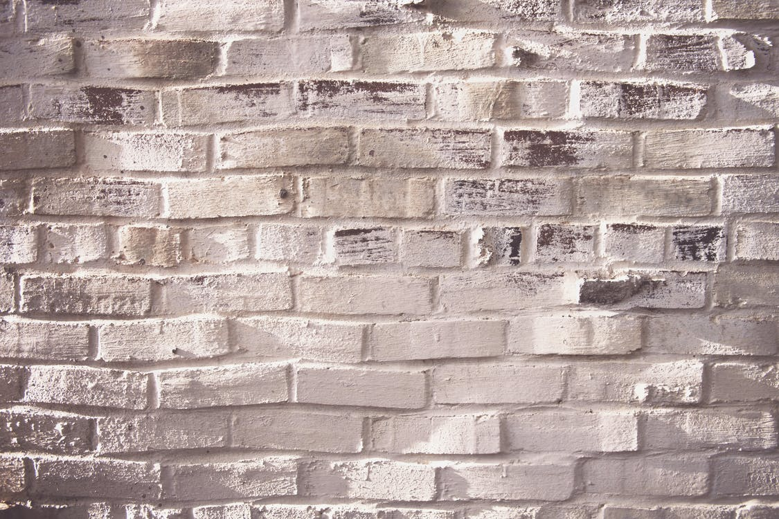 Photography of White Brick Wall