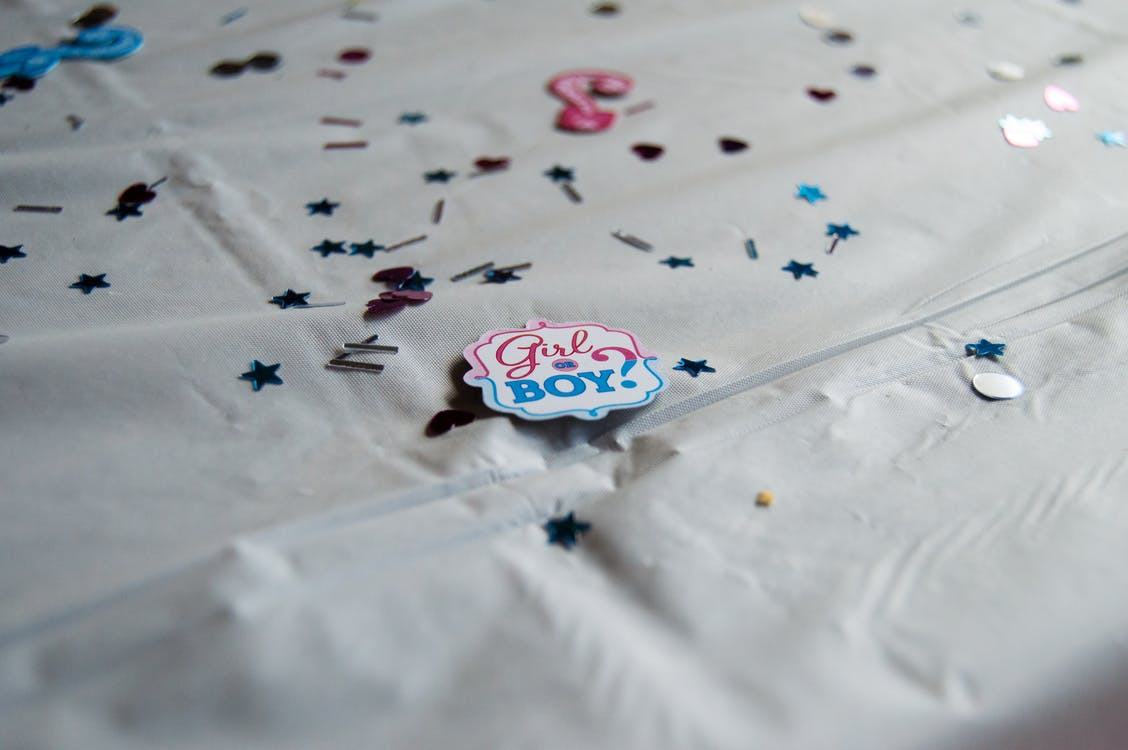 Free stock photo of baby shower, boy, gender reveal