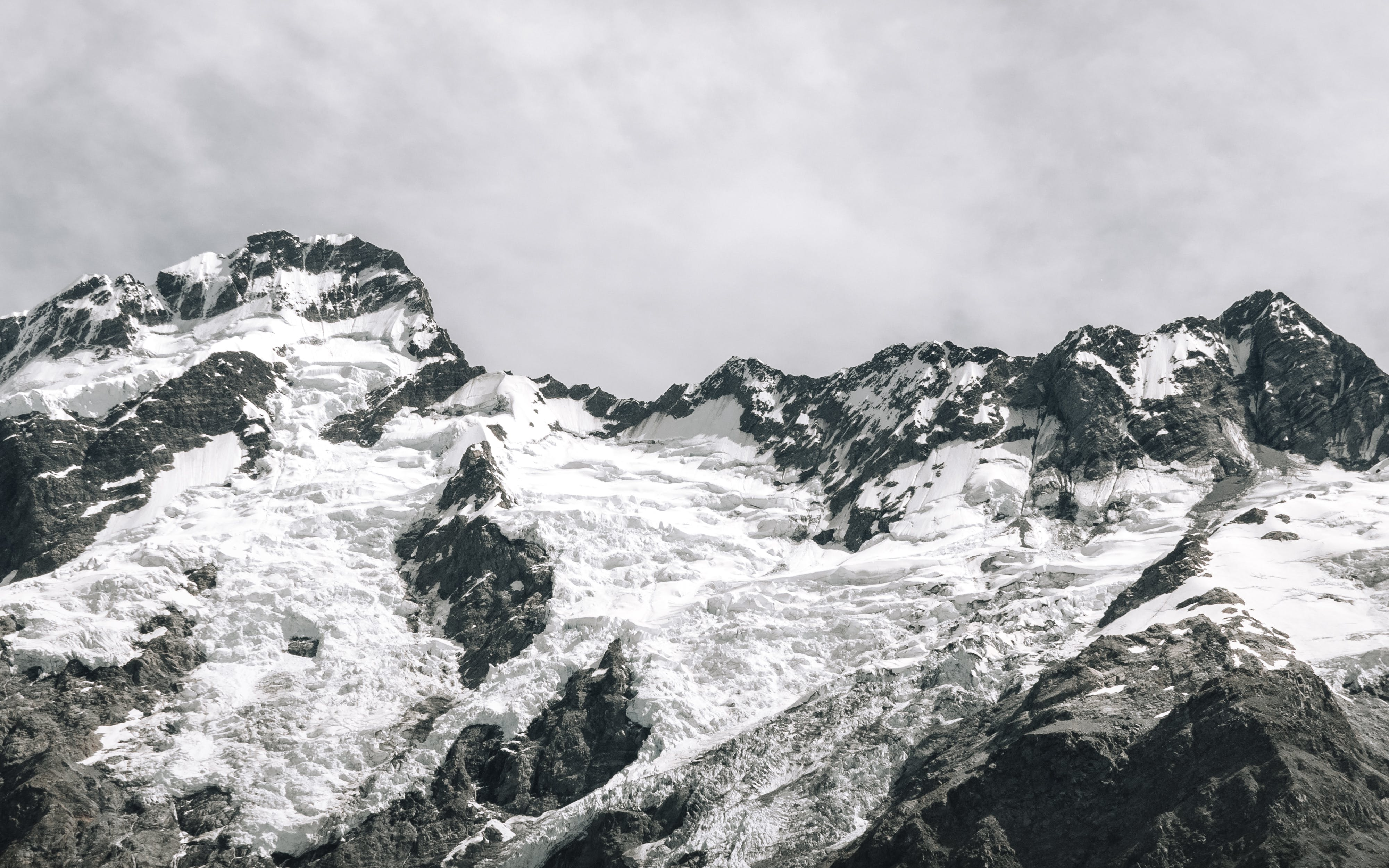 Photography of Snow Capped Mountain