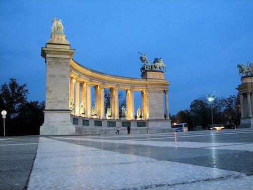 Fotos de stock gratuitas de atardecer, Budapest, Hungría, memorial del milenio