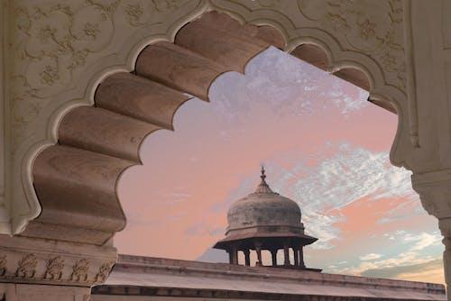 건축, 고대의, 관광, 구름의 무료 스톡 사진