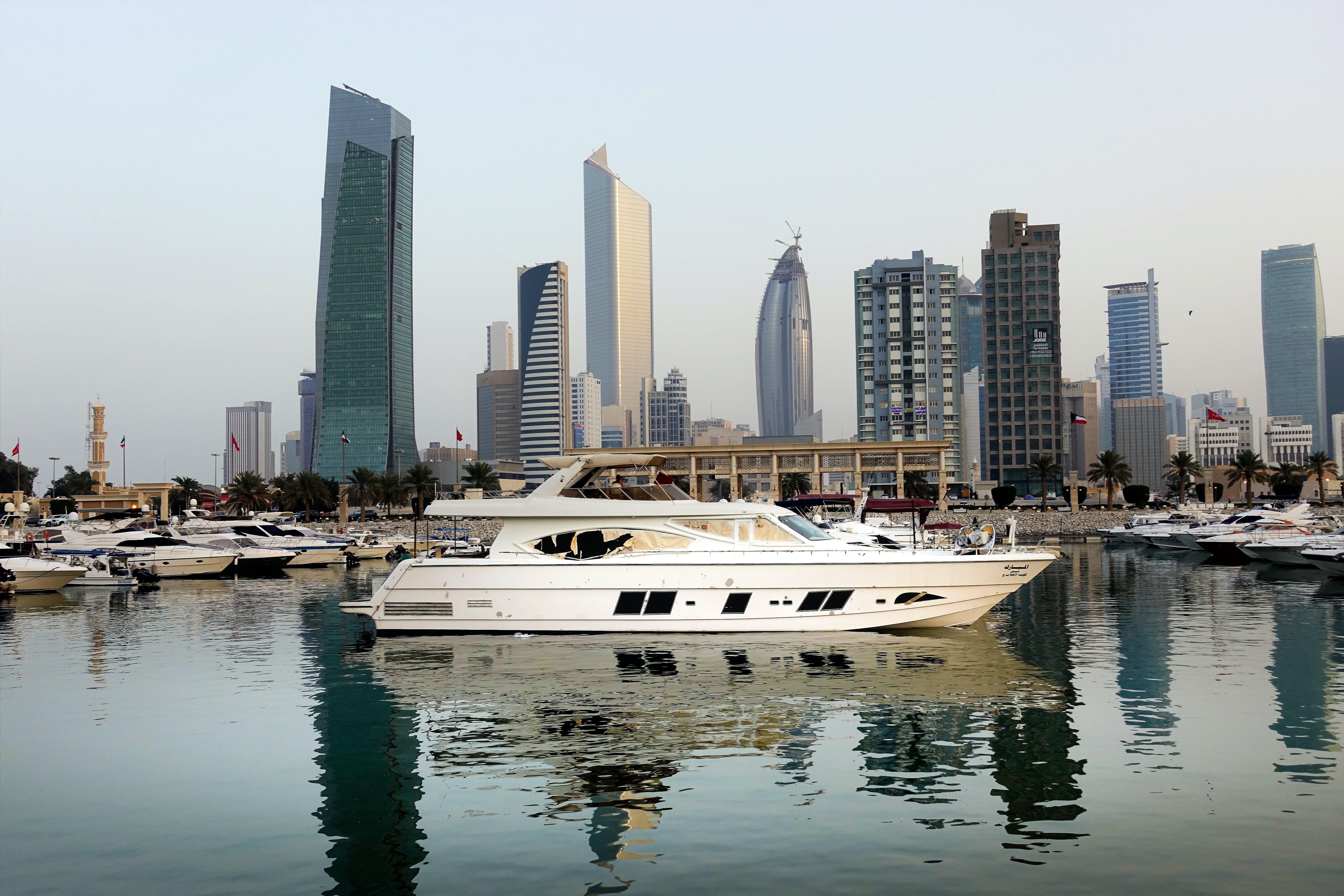 Photo of Yachts Near the City