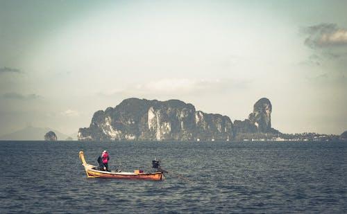 Kostenloses Stock Foto zu boot, farbe, hübsch, thailand