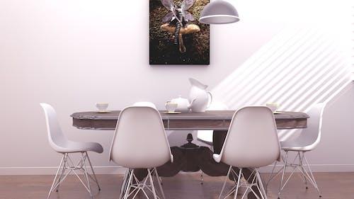 夕食のテーブルの無料の写真素材