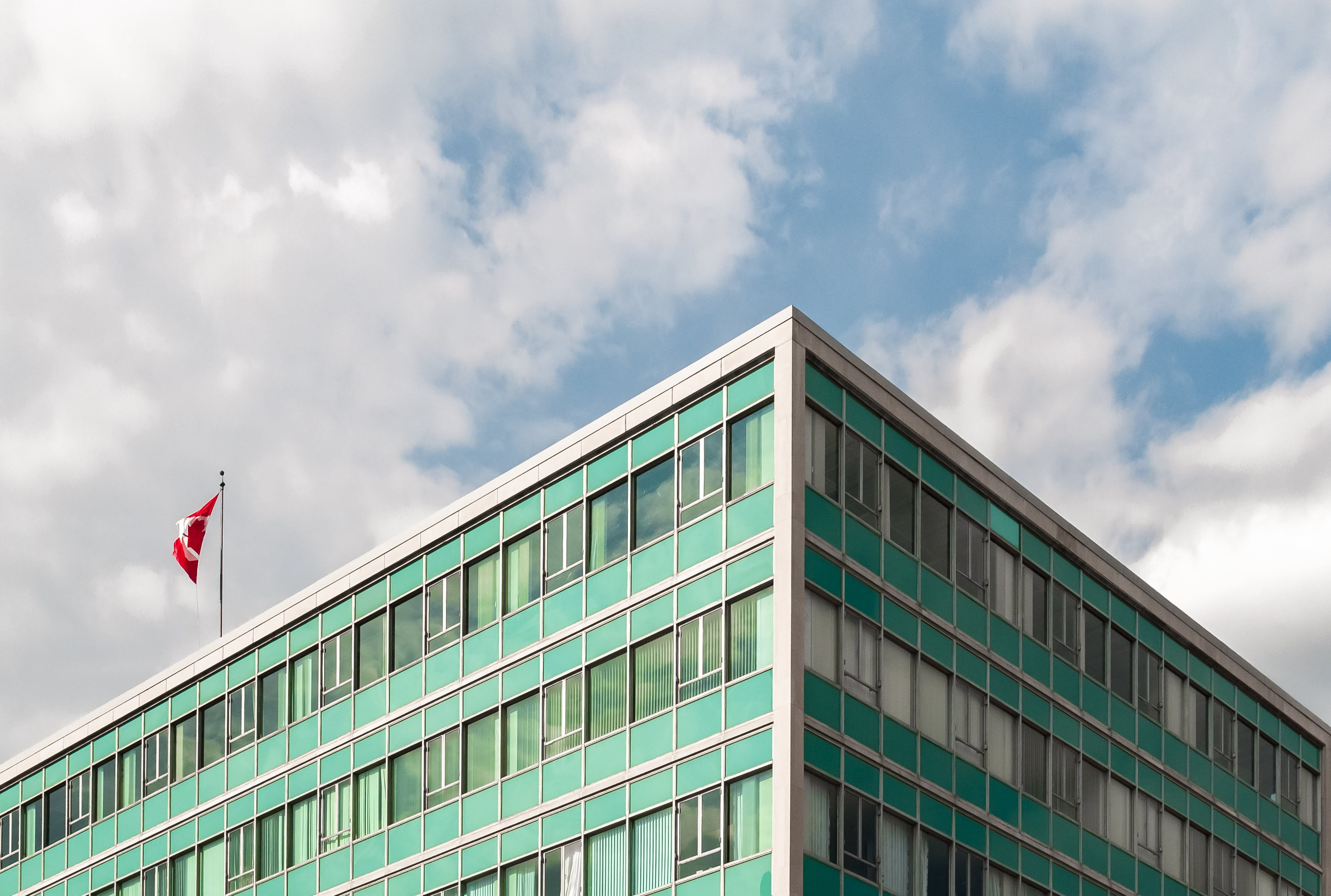 Low Angle Photography of a Building