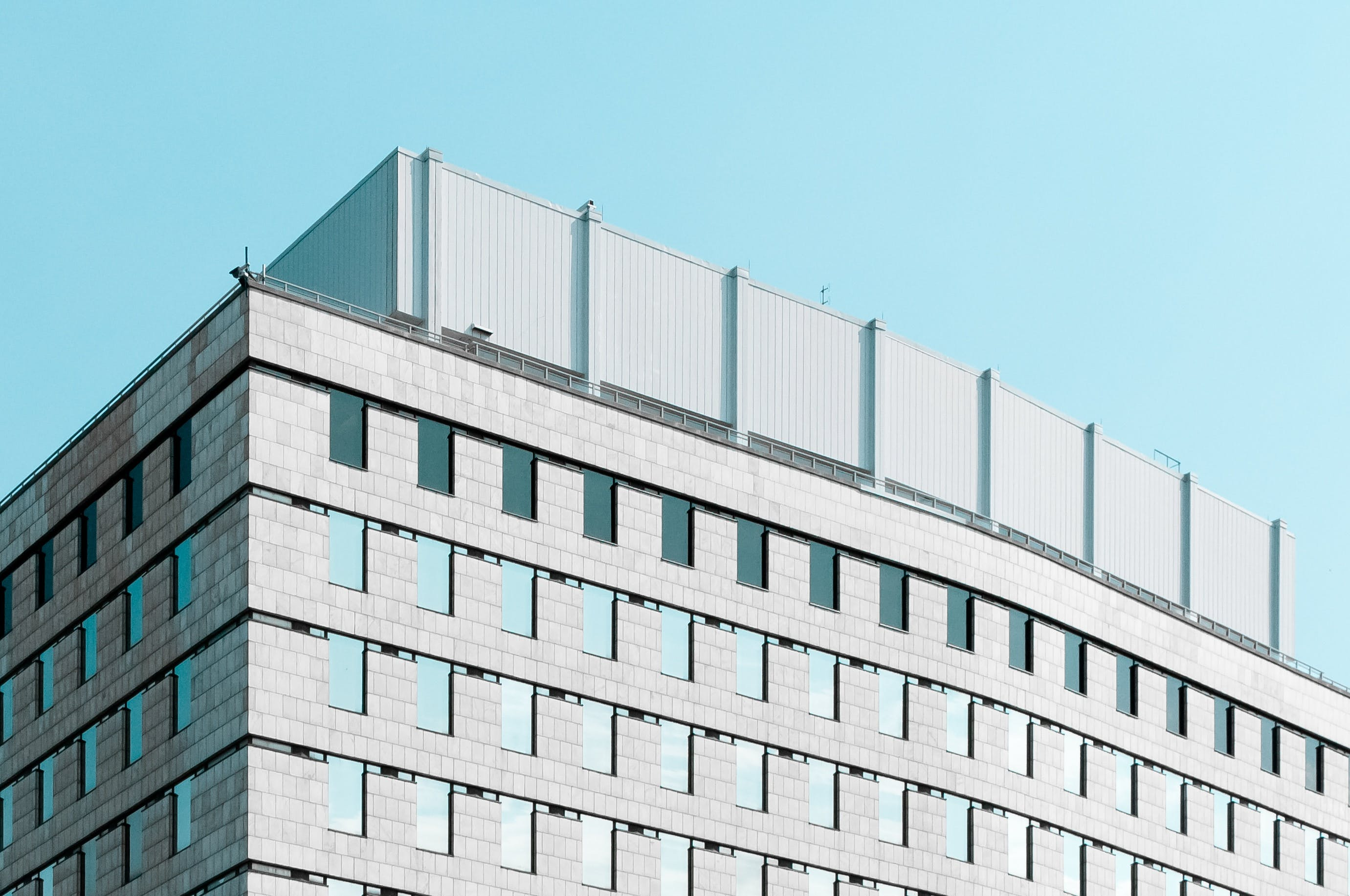 Foto d'estoc gratuïta de arquitectònic, arquitectura, articles de vidre, cel