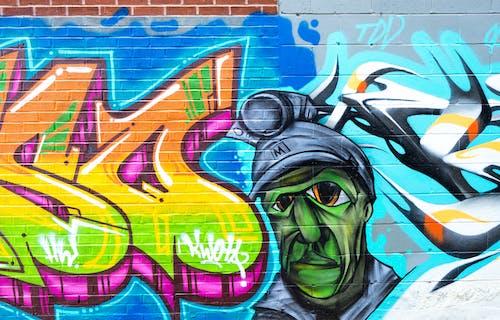 Free stock photo of art, bricks, bright, bright colours