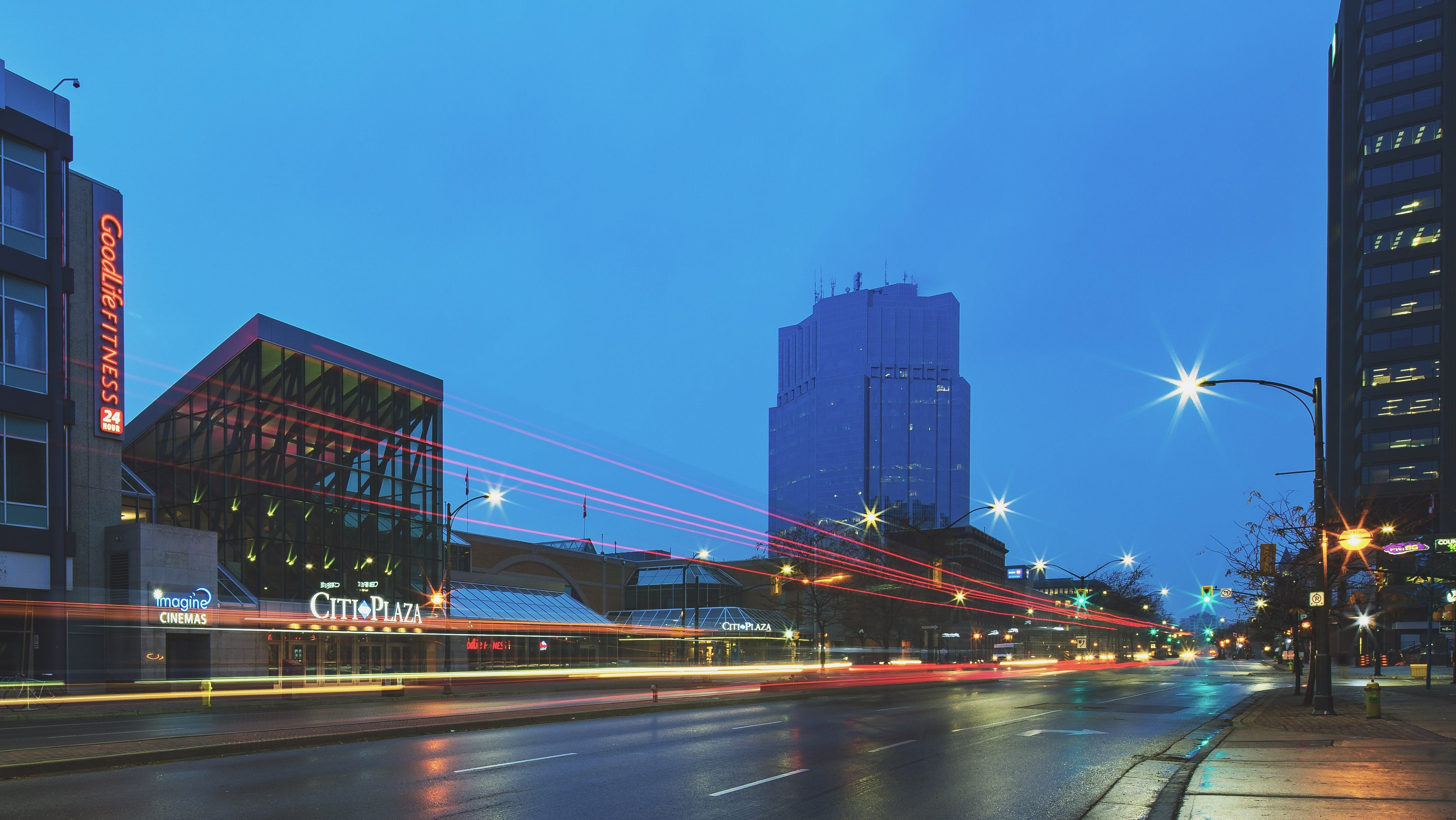 Long-exposure Photography of Highway During Evening