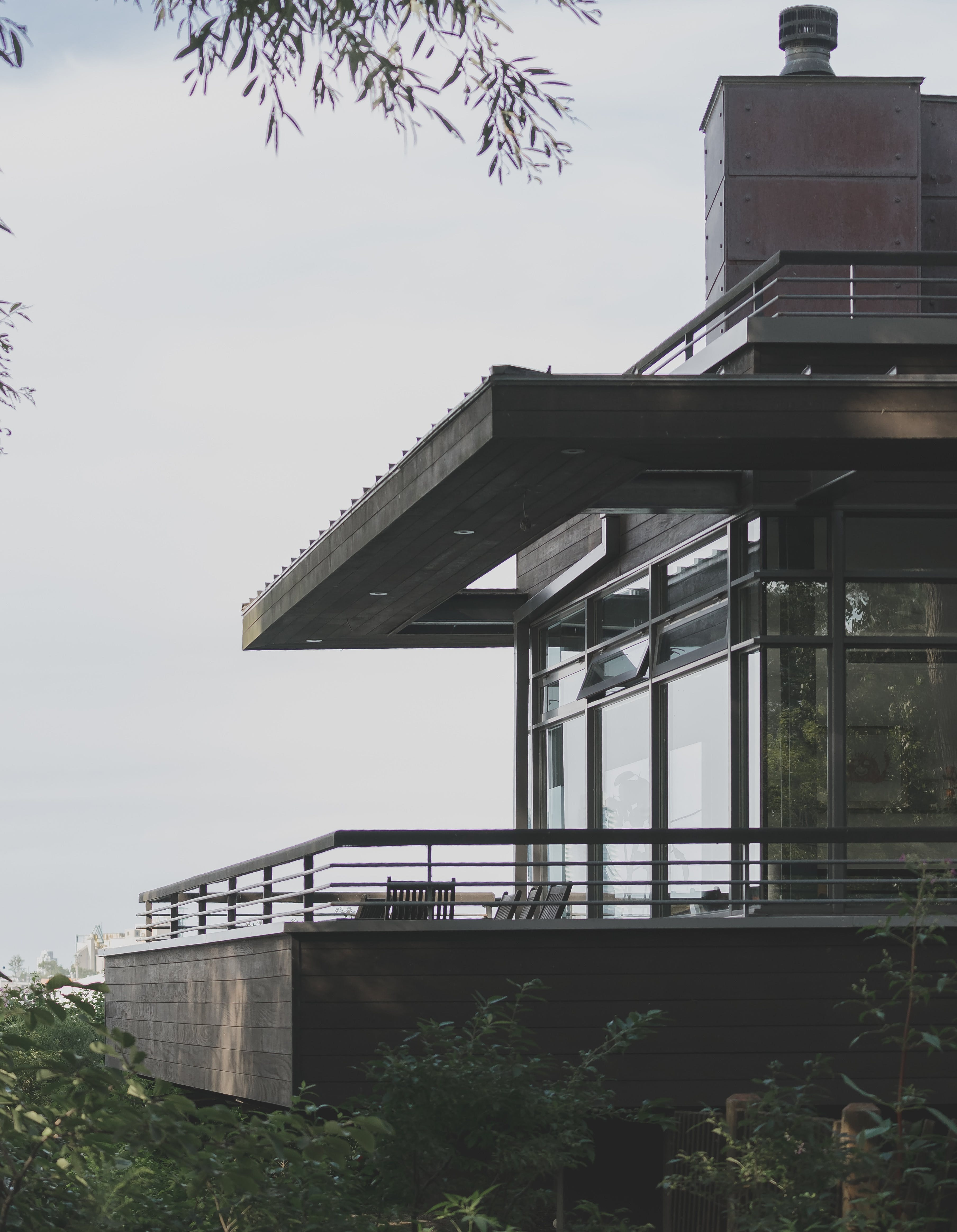 Kostenloses Stock Foto zu bäume, haus, architektur, blätter