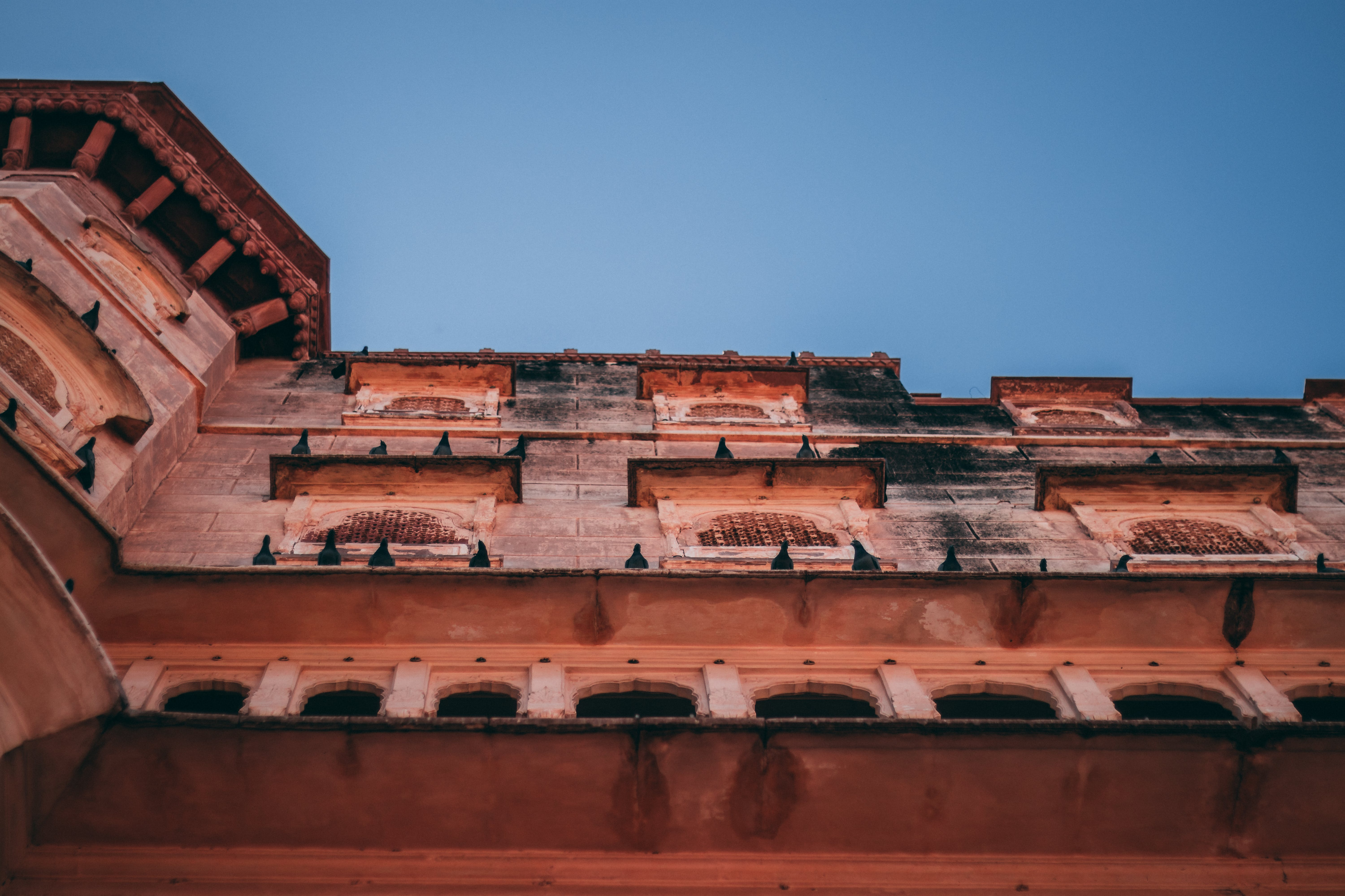 Low Angle View Photography of Building