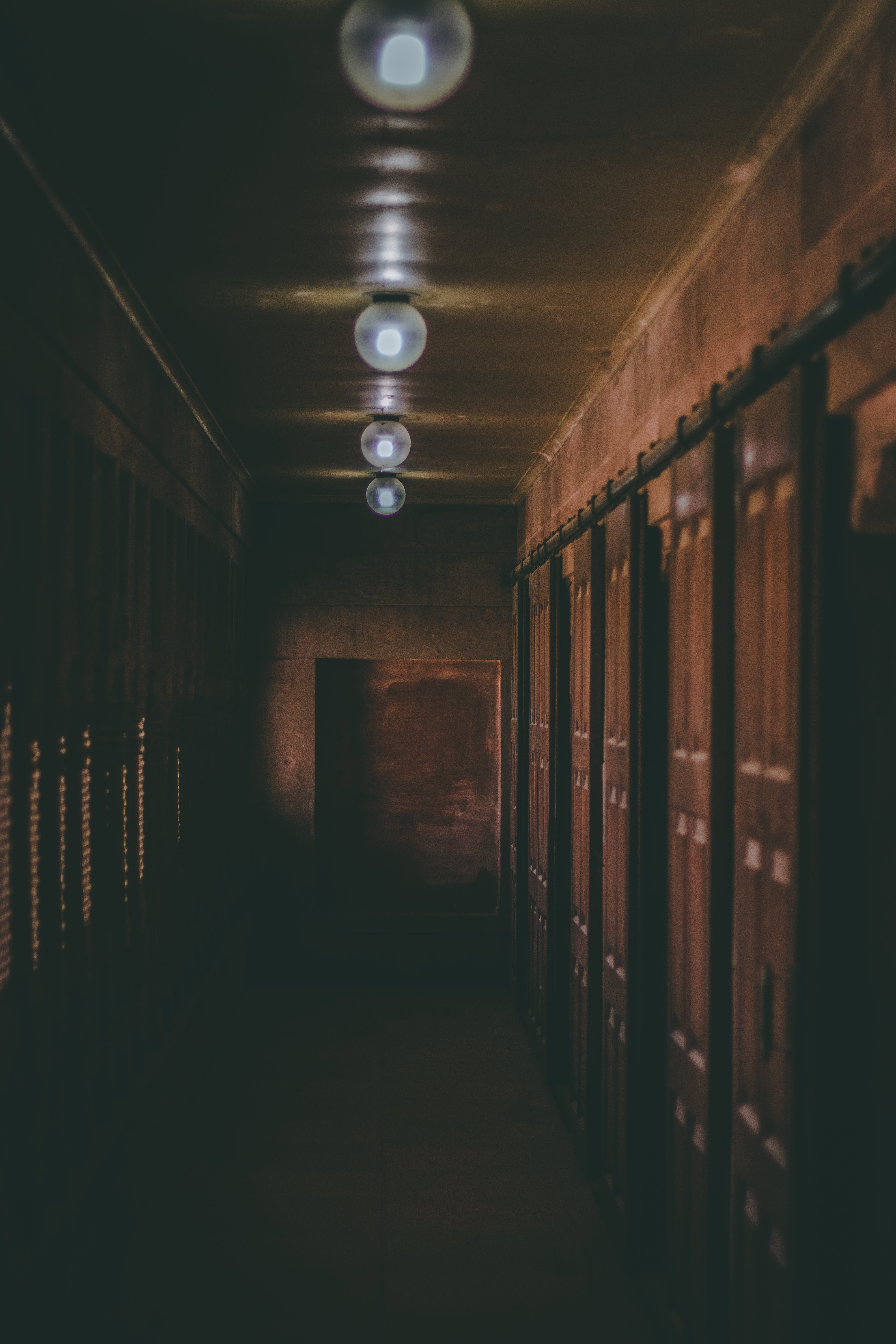 Photo of Hallway With Dim Lights