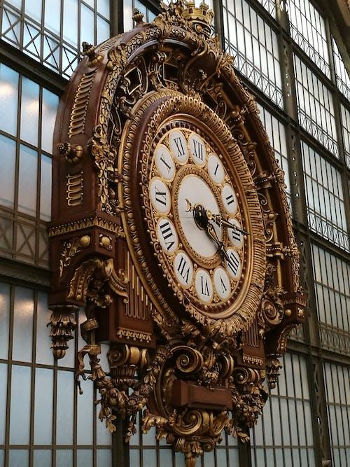 古老的, 古董, 復古, 掛鐘 的 免费素材照片