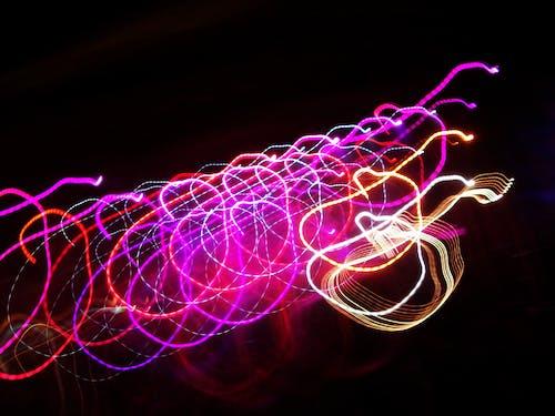 Ilmainen kuvapankkikuva tunnisteilla valot, yö