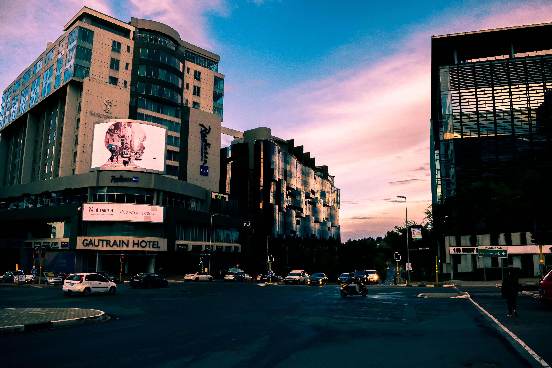 Photo of City During Dusk