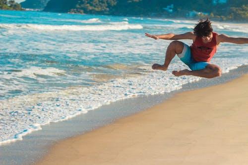 Kostnadsfri bild av avslappning, fritid, hållning, hav