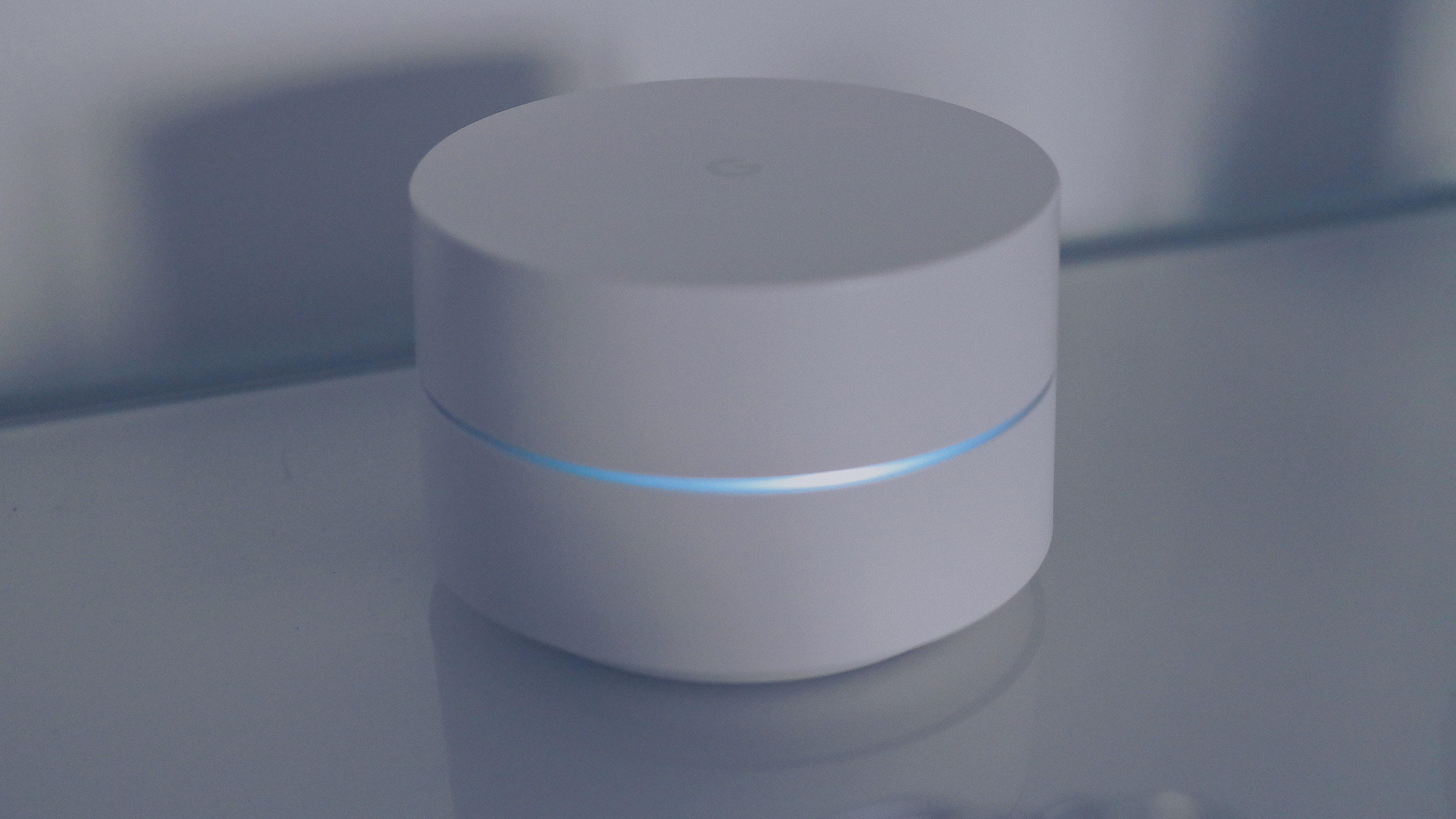 White Google Speaker