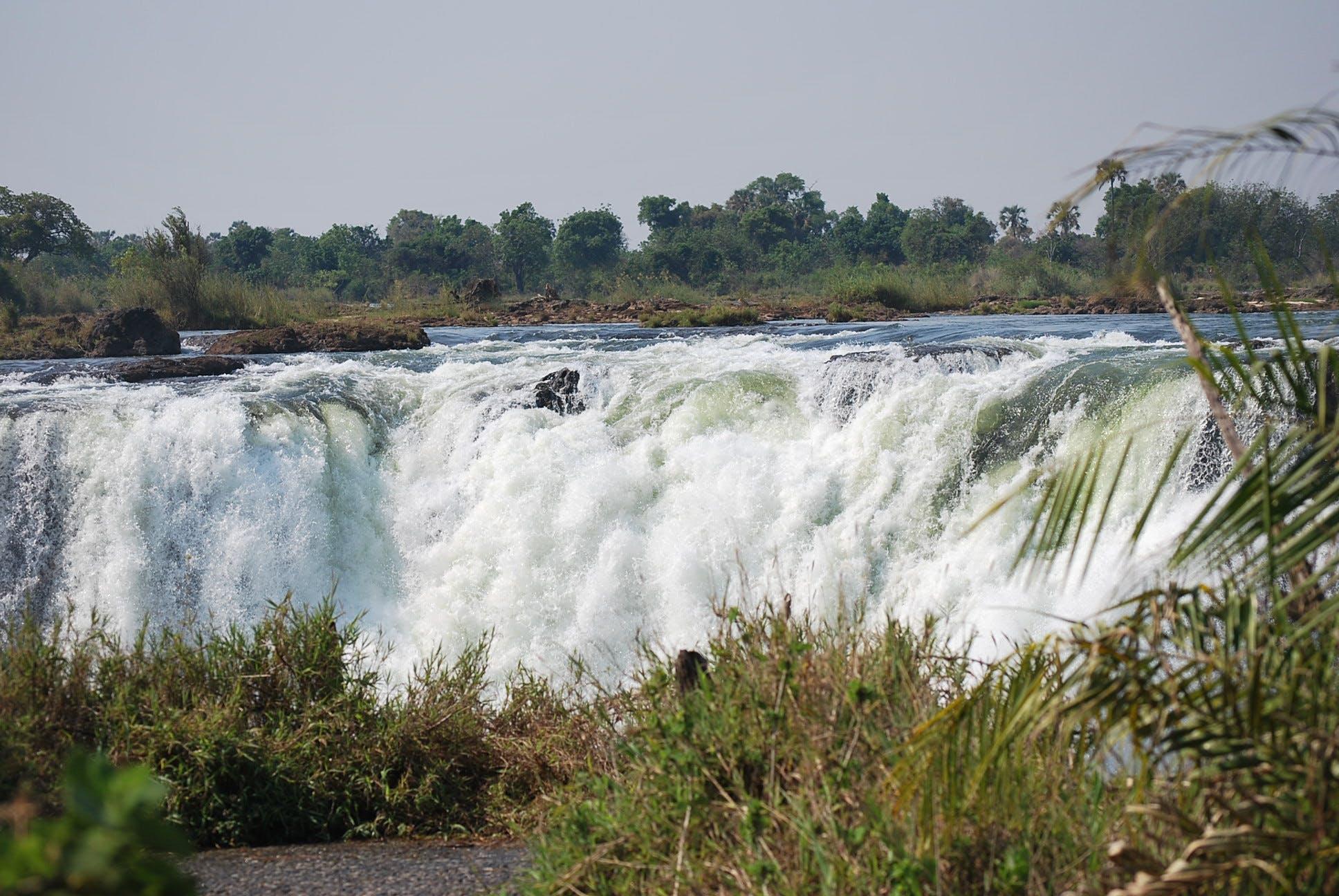 Gratis lagerfoto af mosi-oa-tunya, vandfald, vic falls, victoria falls