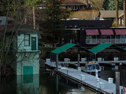 Ingyenes stockfotó dokk, épületek, hajóm csónak, sátor témában
