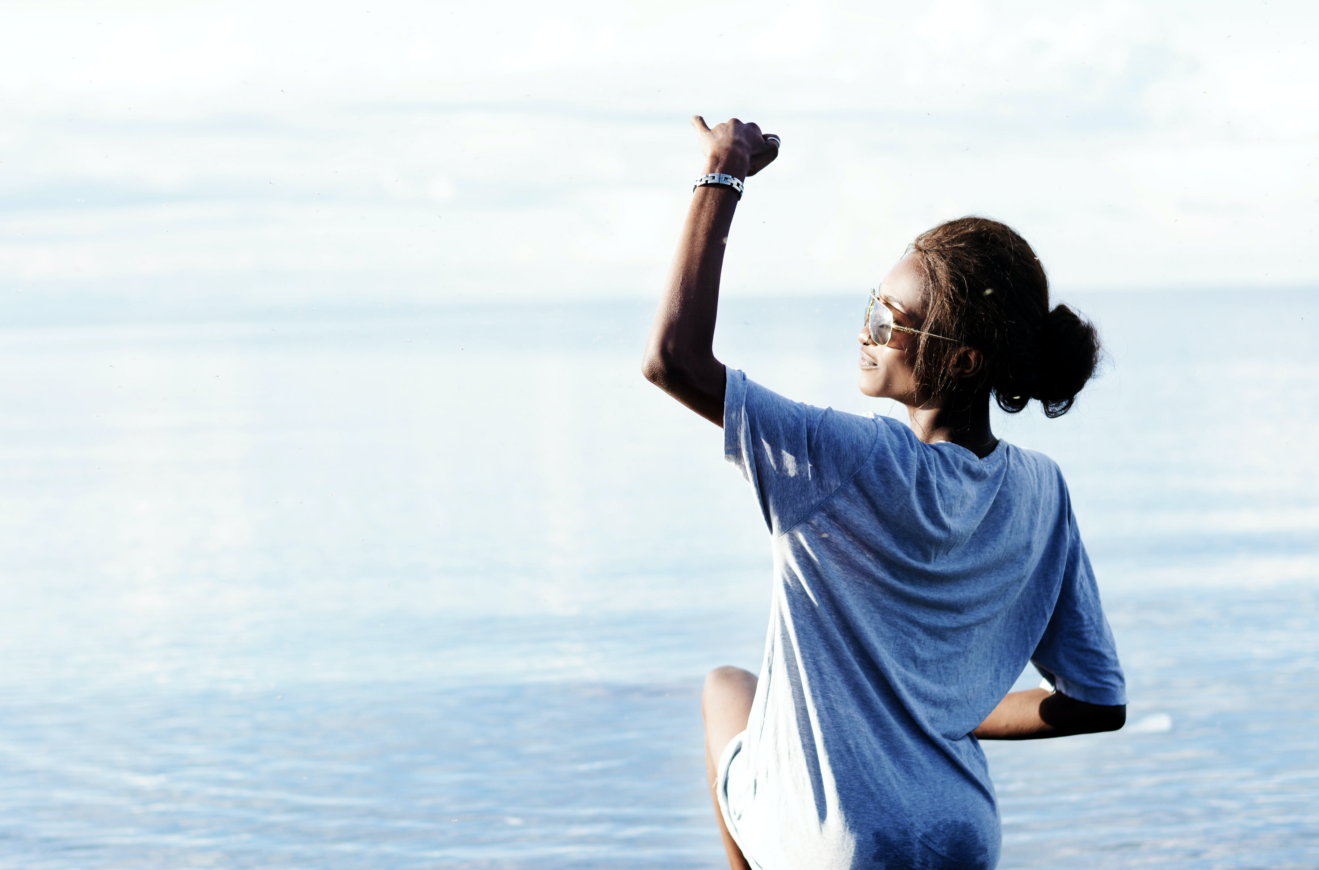 boş zaman, deniz, dinlenme, eğlence içeren Ücretsiz stok fotoğraf