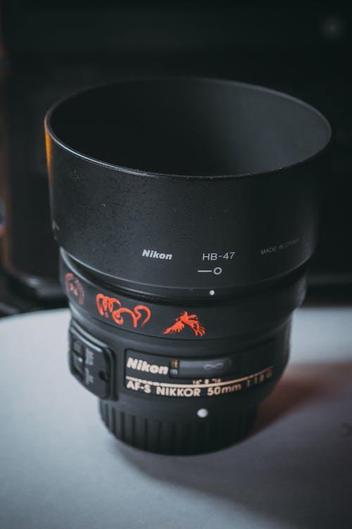 Бесплатное стоковое фото с nikon, линза, линзы, объектив камеры