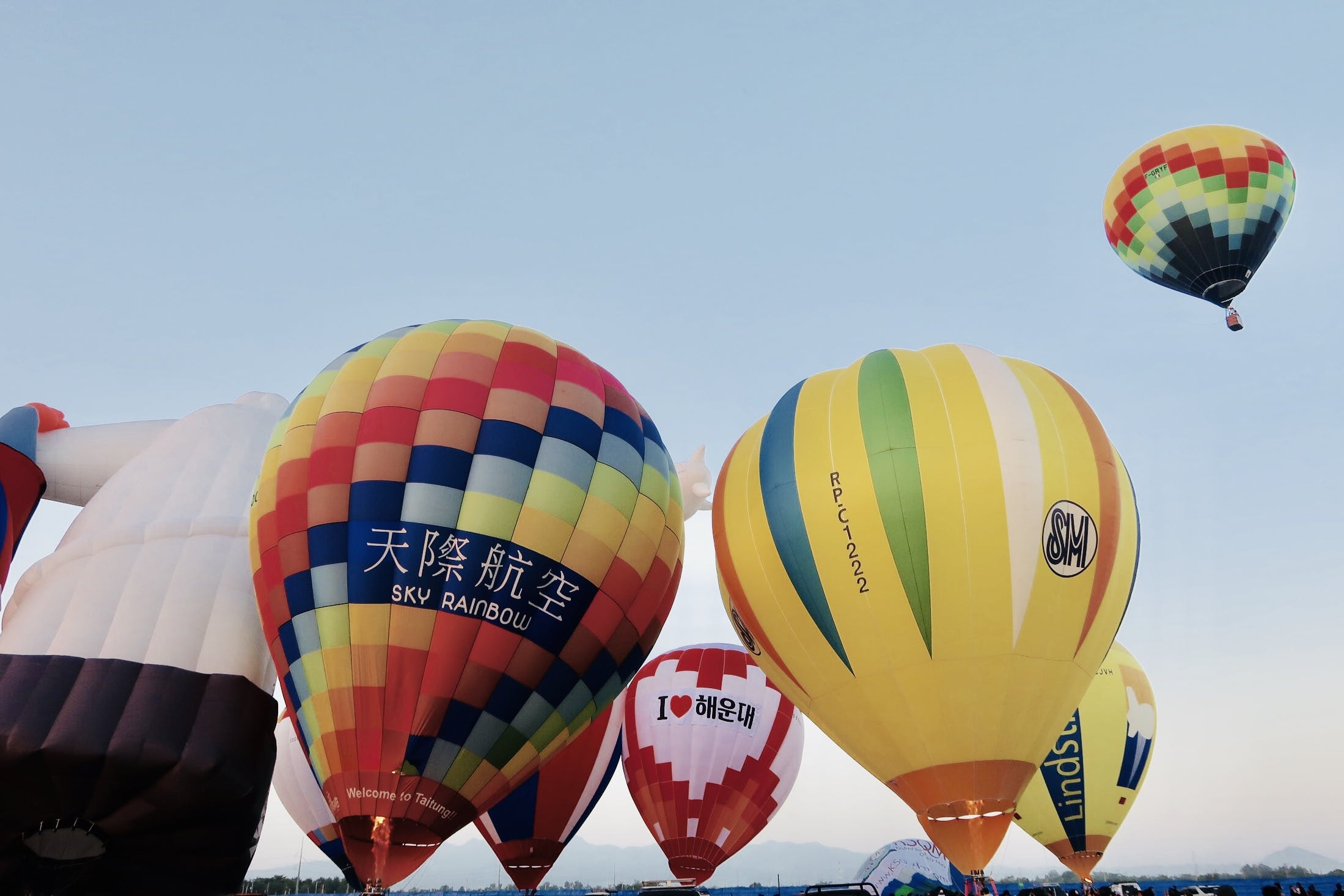 Free stock photo of hot air balloons, Philippines