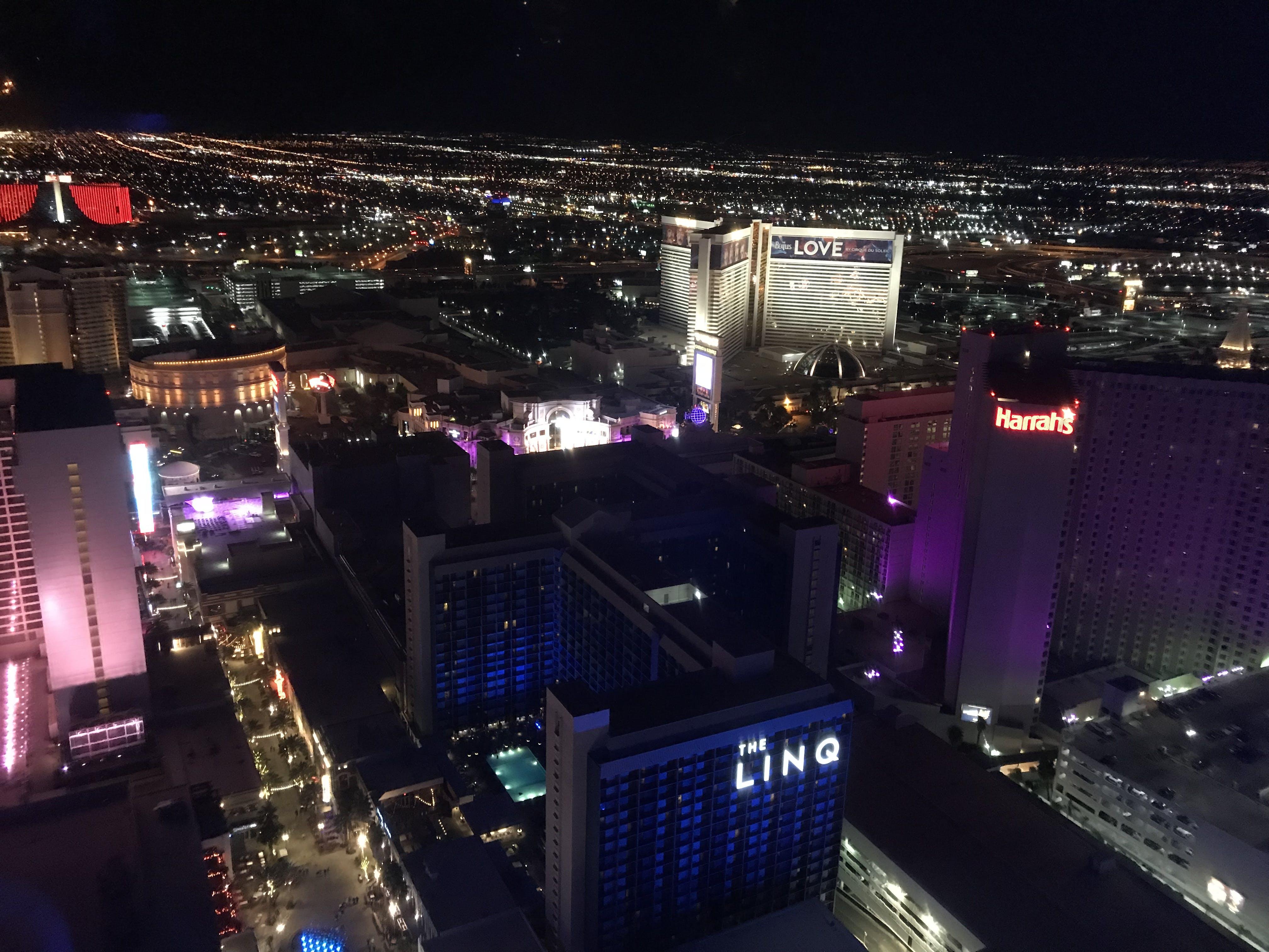 Free stock photo of buildings, city, Las Vegas, Sin city